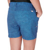 The North Face Girls Argali Hike/Water Short Cosmic Blue Texture Print